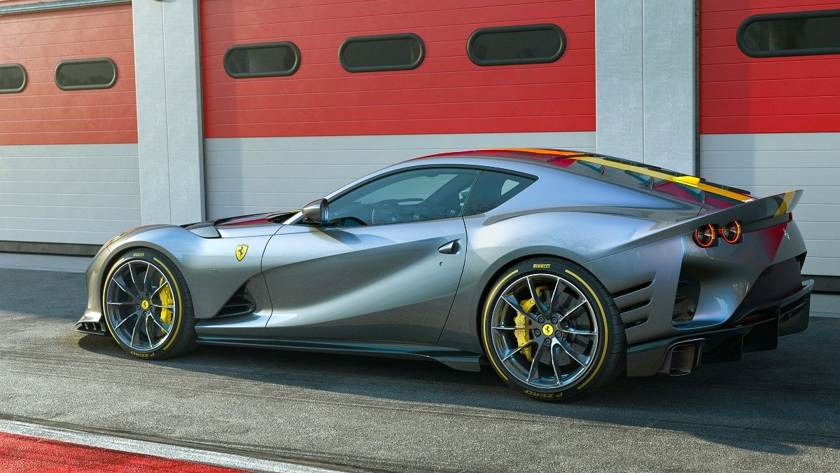 The Ferrari 812 Competizione is the world's most powerful naturally aspirated production car