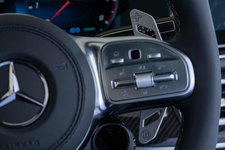 Brabus Race design aluminium shift paddles