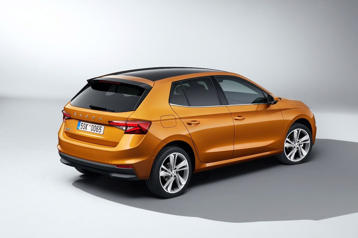 The new Skoda Fabia gets angular touches to make it look wider and longer