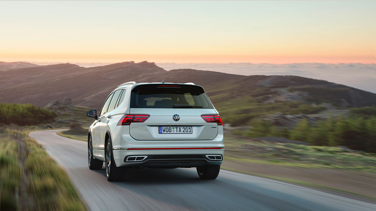 The Tiguan Allspace looks neat from all angles