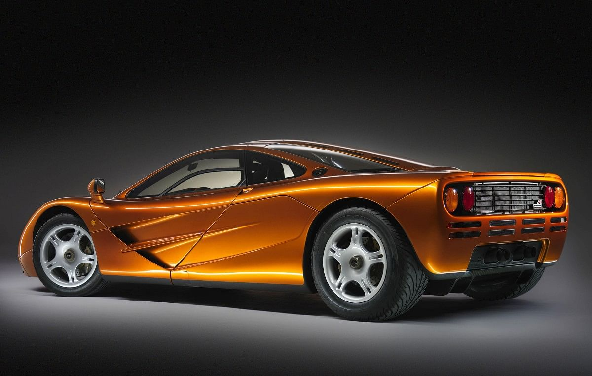 The McLaren F1 had its engine bay lined with gold to redirect heat