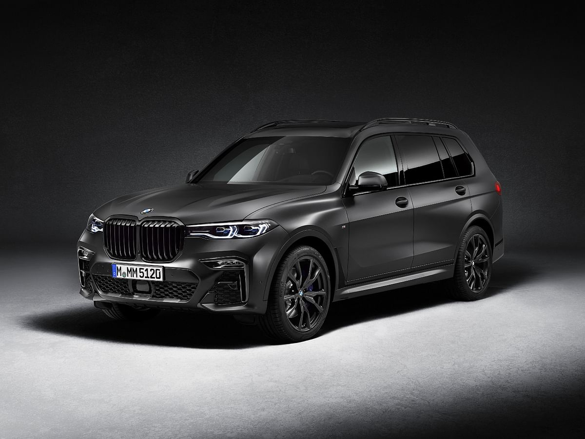 BMW X7 M50d Dark Shadow Edition launched at Rs 2.02 crore