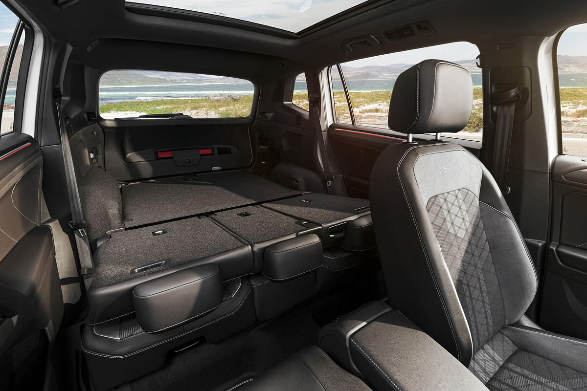 It offers 1755-litres of maximum space with two rows and the co-driver's seat folded