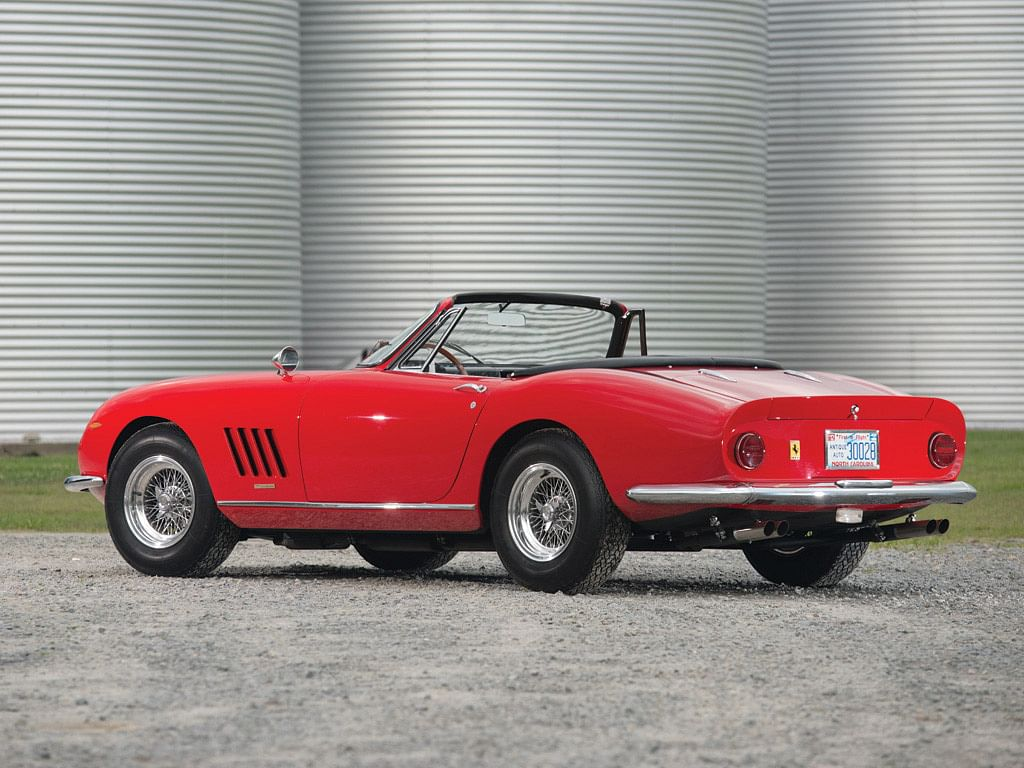 1967 Ferrari 275 GTB/4*S NART Spider chassis 10709