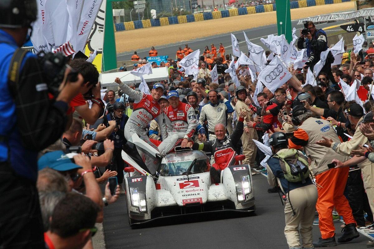 Audi's last win at Le Mans was in 2014 with the R18 e-tron Quattro