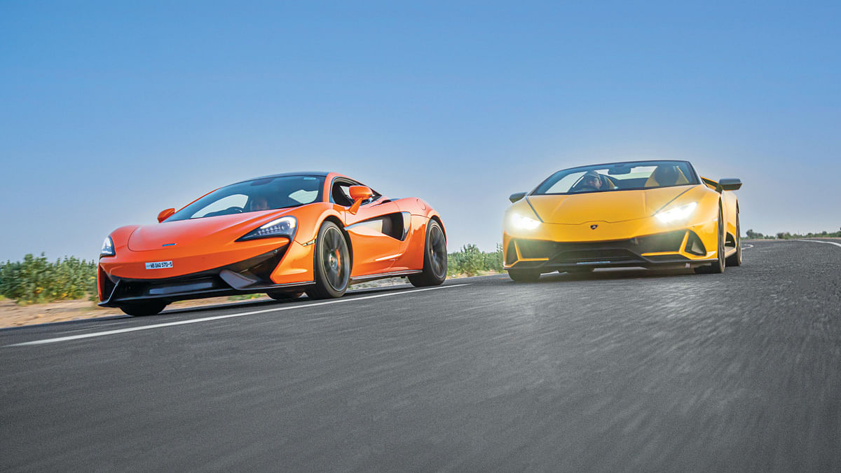 We drove the McLaren 570S recently on India's fastest road