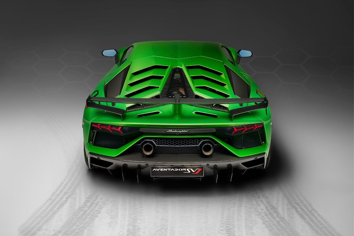 The Aventador SVJ is limited to just 900 units