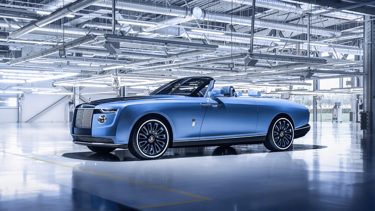 Rolls-Royce unveils one-of-three Boat Tail