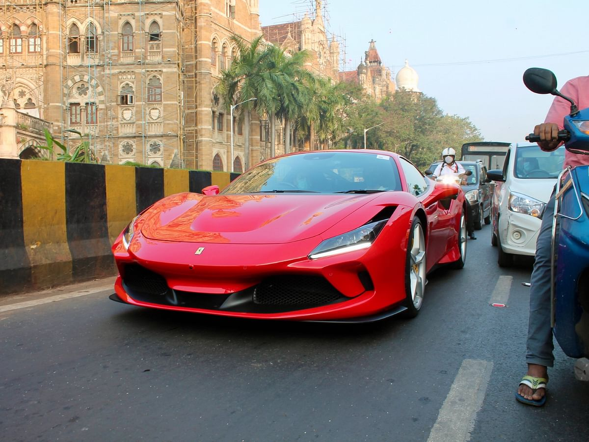 Is it easy to drive a Ferrari in Mumbai?
