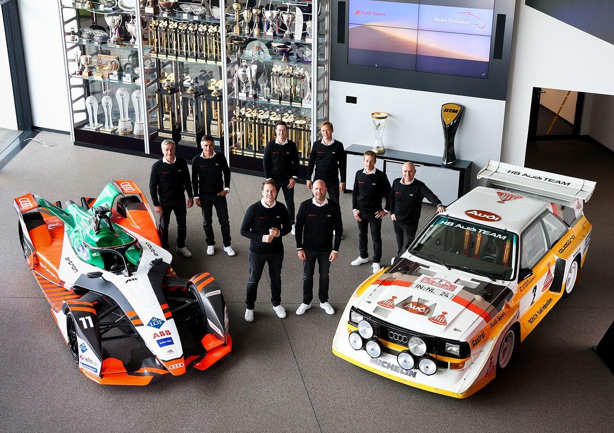 Star-studded line-up from Audi for 2022 Dakar rally