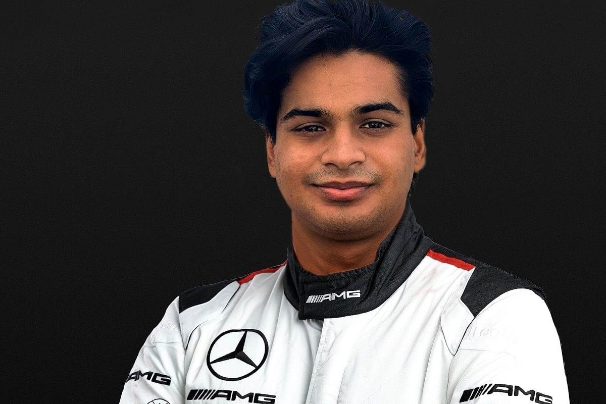 Arjun Maini is the first Indian to drive in the DTM