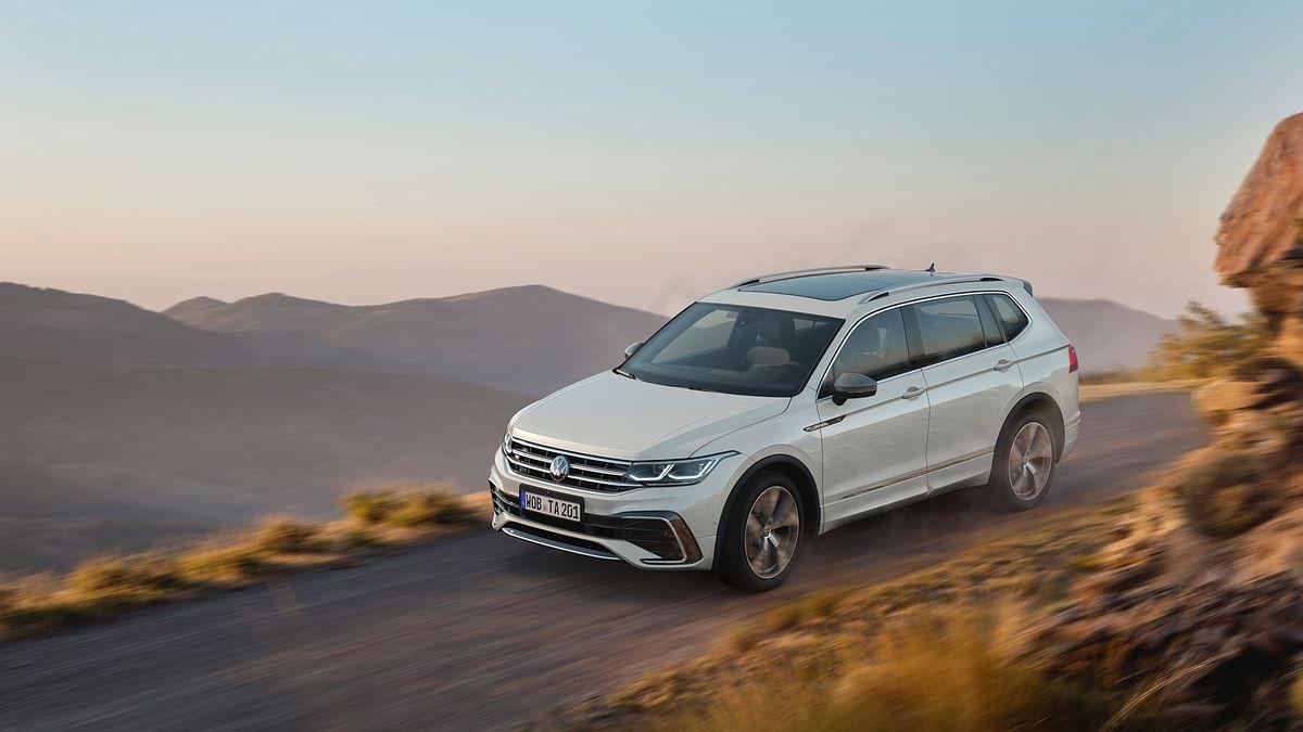 2021 Volkswagen Tiguan Allspace unveiled