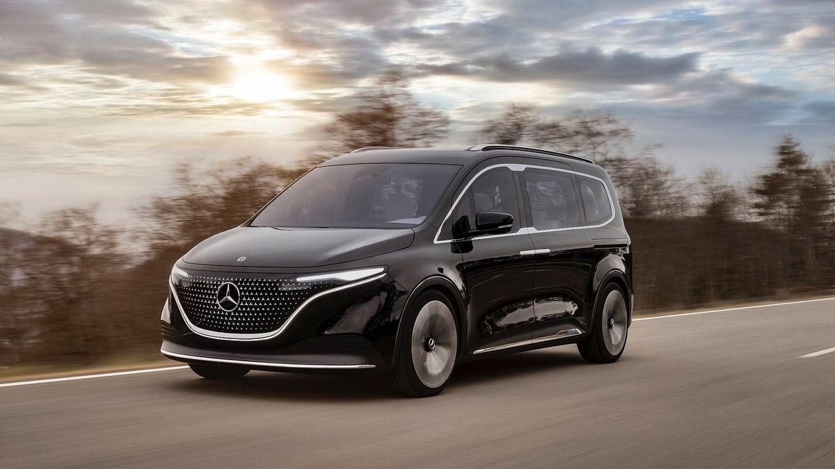 Mercedes-Benz unveils the Concept EQT