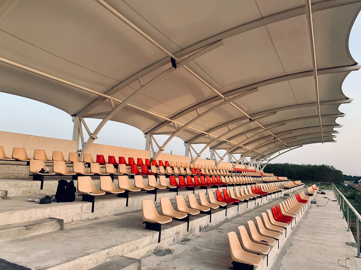 New permanent grandstand will give spectators an enhanced experience!
