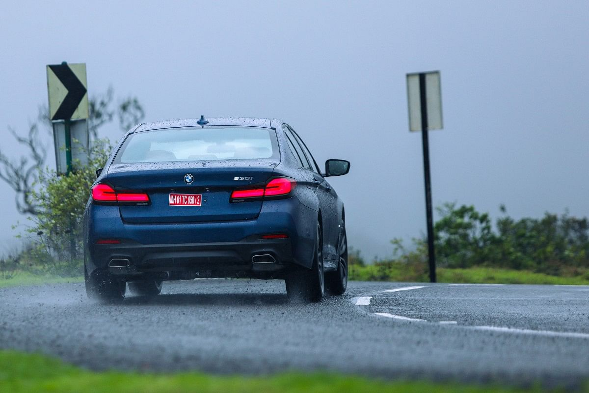 The rear gets updated tail lights similar to those on the new 3 Series