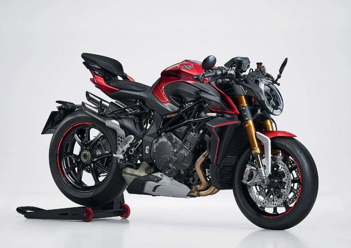 MV Agusta Brutale 1000 RR in Fire Red and Matt Metallic Dark Grey