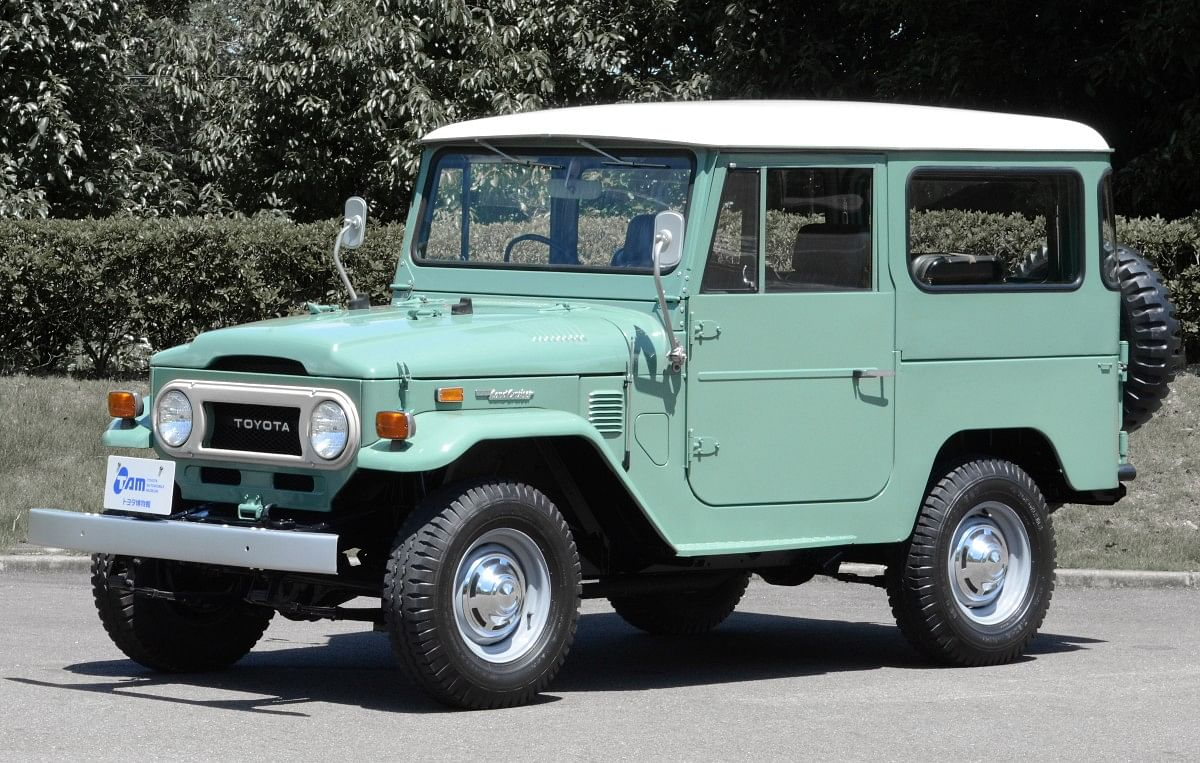 The FJ40 was the Land Cruiser's first major update