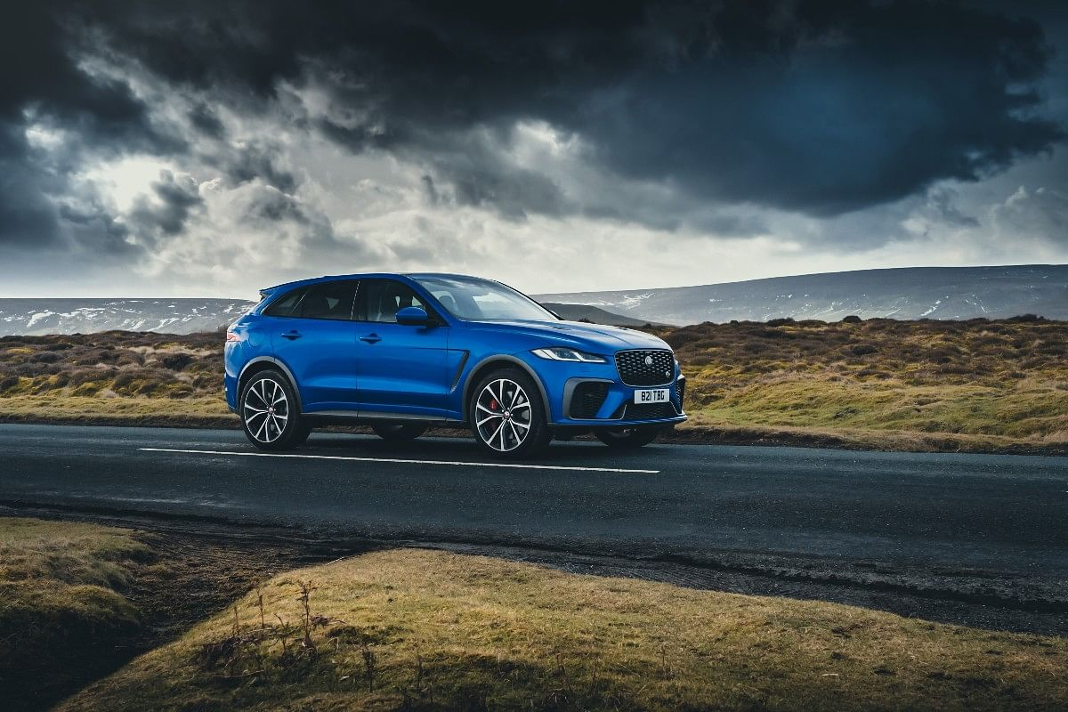 The 5-litre supercharged engine will propel the F-Pace SVR to a top speed of 286kmph!
