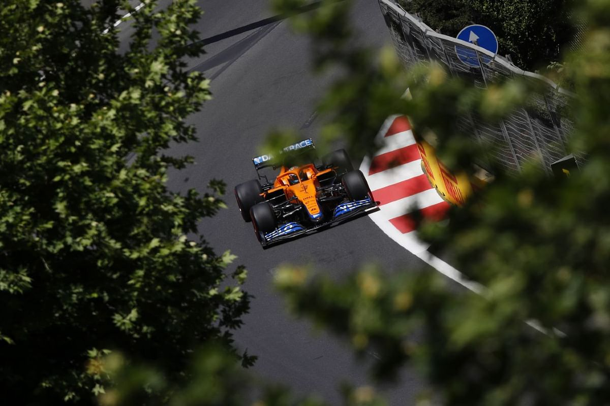 Daniel Ricciardo pushing the limits