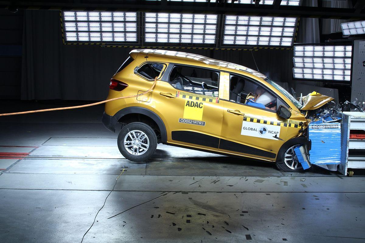 Renault Triber scores 4 stars in the Global NCAP crash tests
