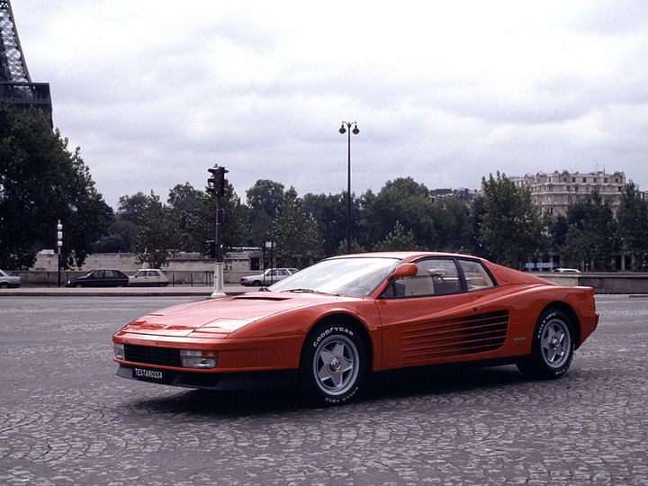 Paint this Ferrari Testarossa white and you'll have Sonny Crockett's car from Miami Vice!