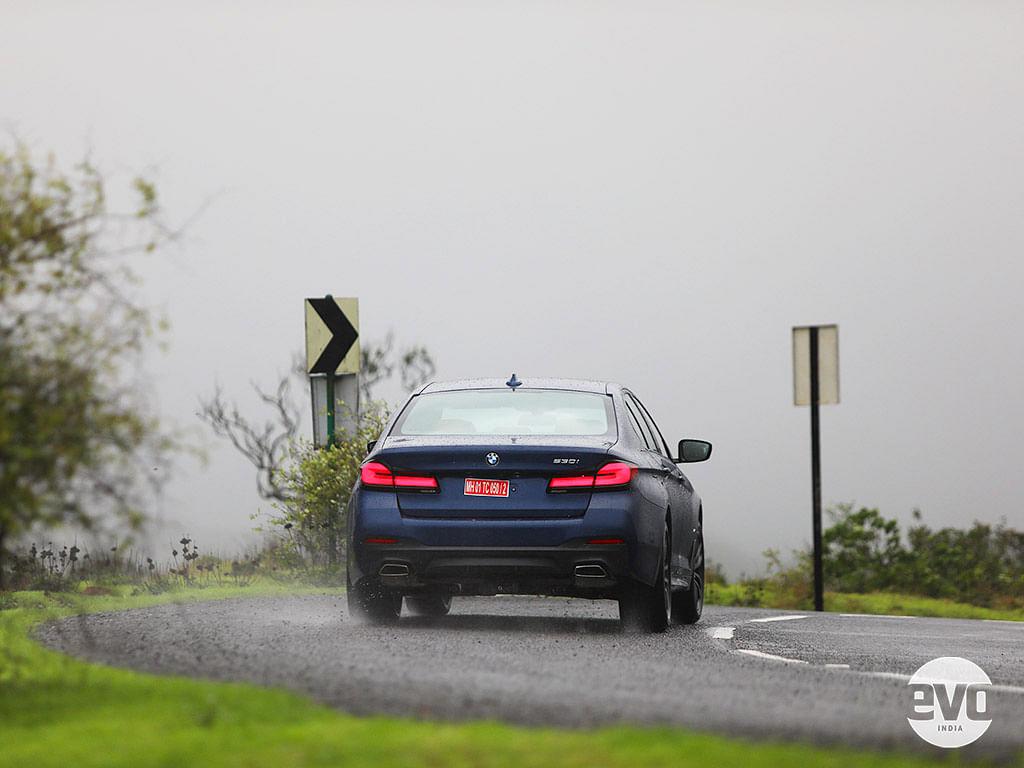 2021 BMW 5 Series gets 3D LED tail lights
