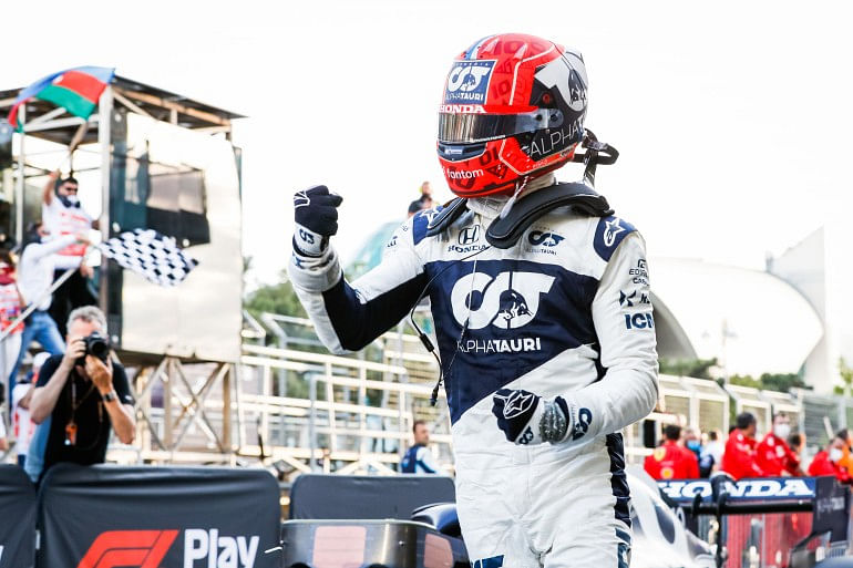 Gasly was chosen to play the 2nd Driver role to Verstappen, but fate had different plans