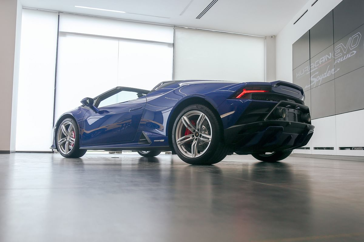 """""""Huracan STO is due for launch in India"""" says Sharad Agarwal, head of Lamborghini India"""