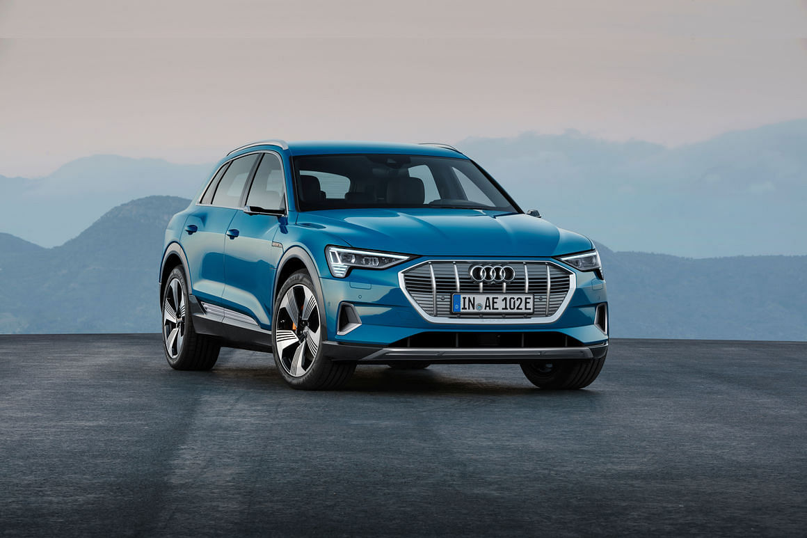 The Audi e-tron is to be launched soon in India