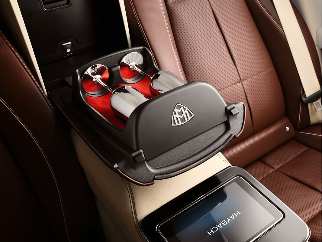 We'd love to savour some champagne in this cabin, just not behind the wheel!