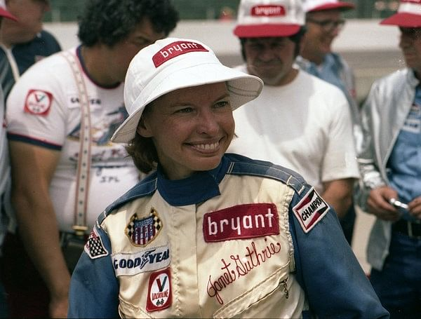 Janet Guthrie is the first woman to drive at the Indy 500