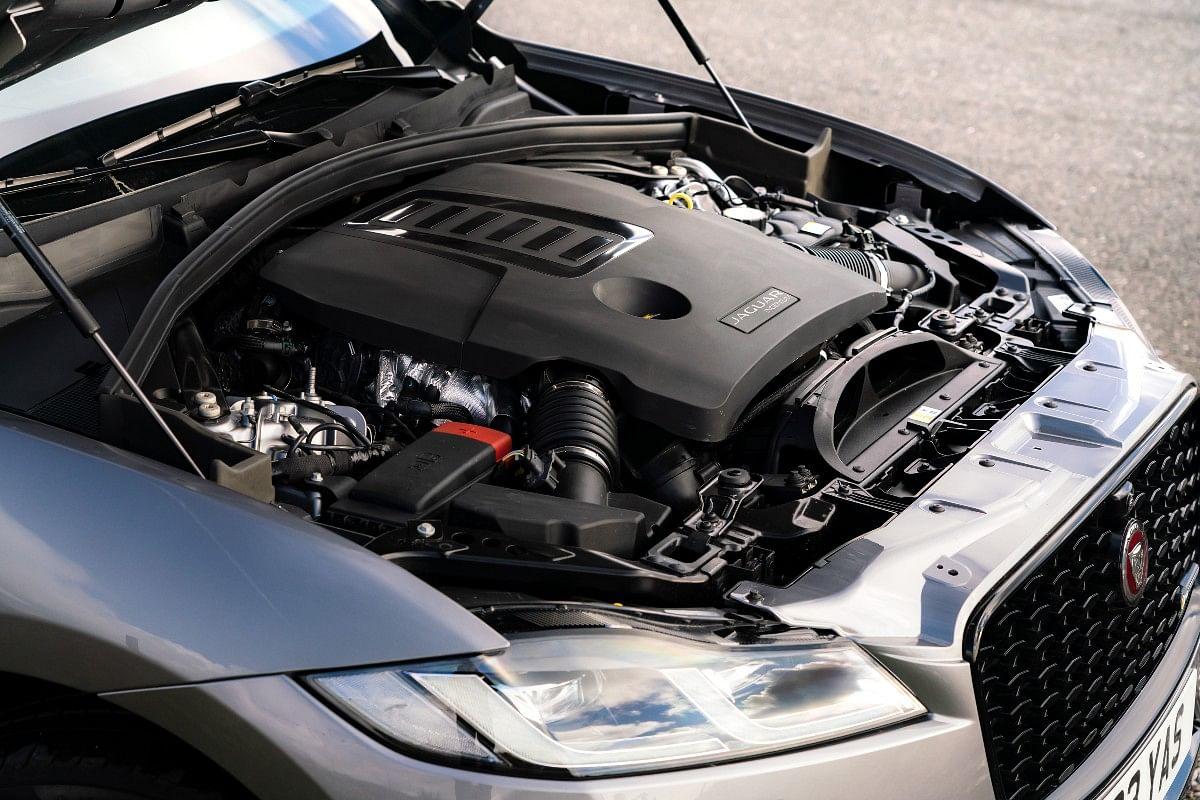 Four-cylinder, turbocharged engine