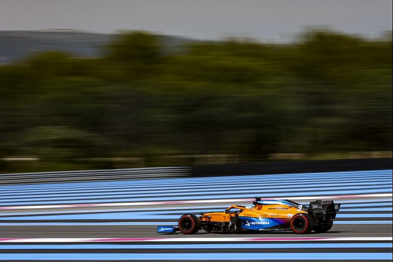 McLaren had a good race with a P5 and P6 finish