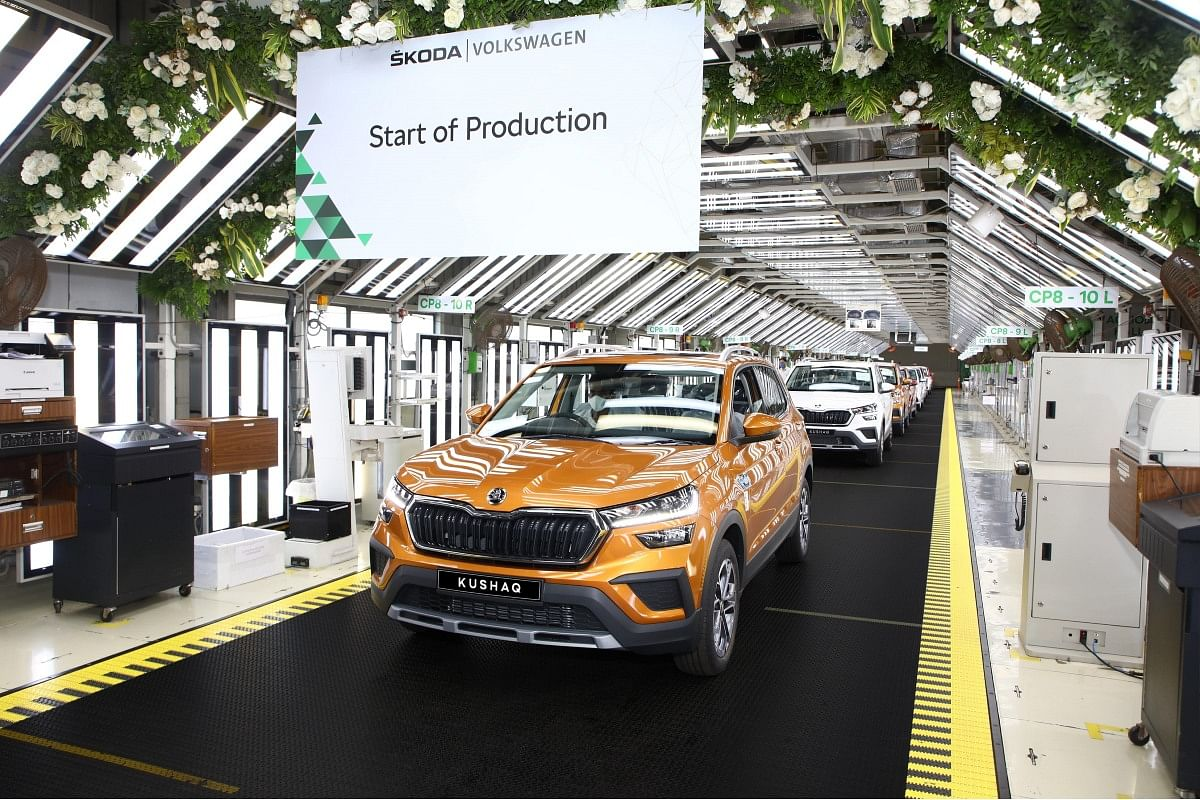 The Kushaq is Skoda's entry ticket to the mid-size SUV segment