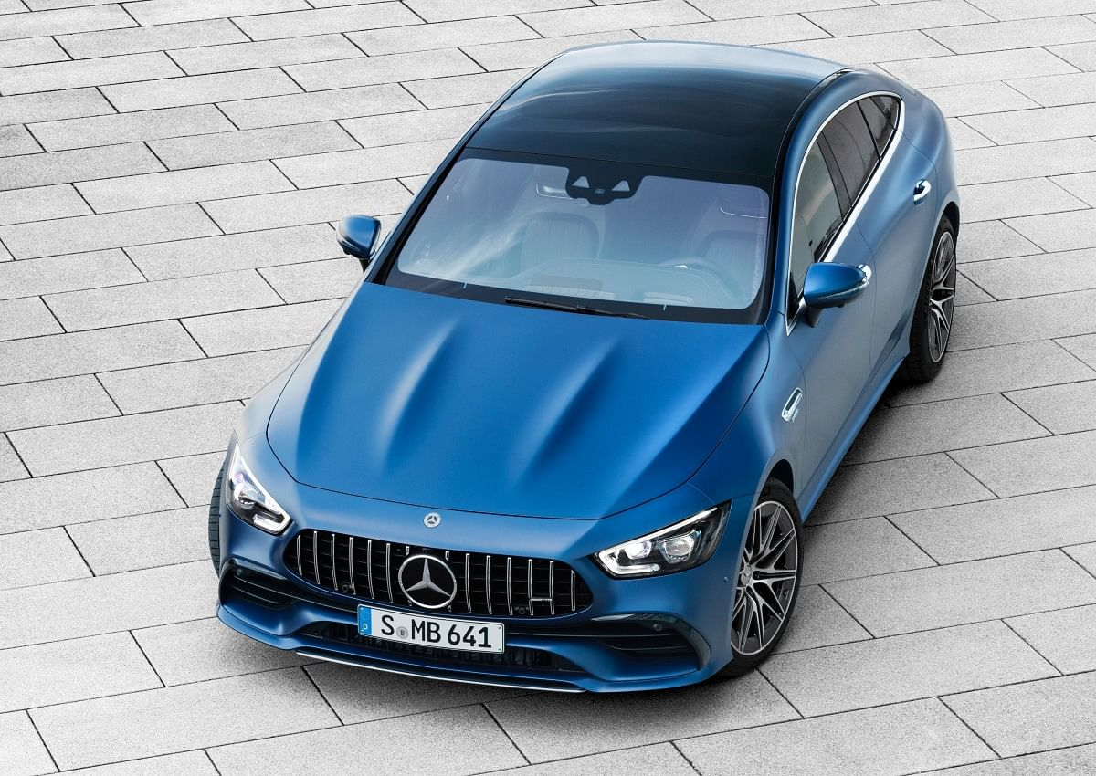 Front end of GT43 and GT53 Mercedes-AMG GT 4-Door Coupé will have option to look like the GT 63