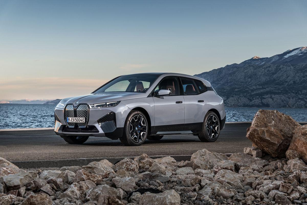 BMW unveils production-spec iX electric SUV