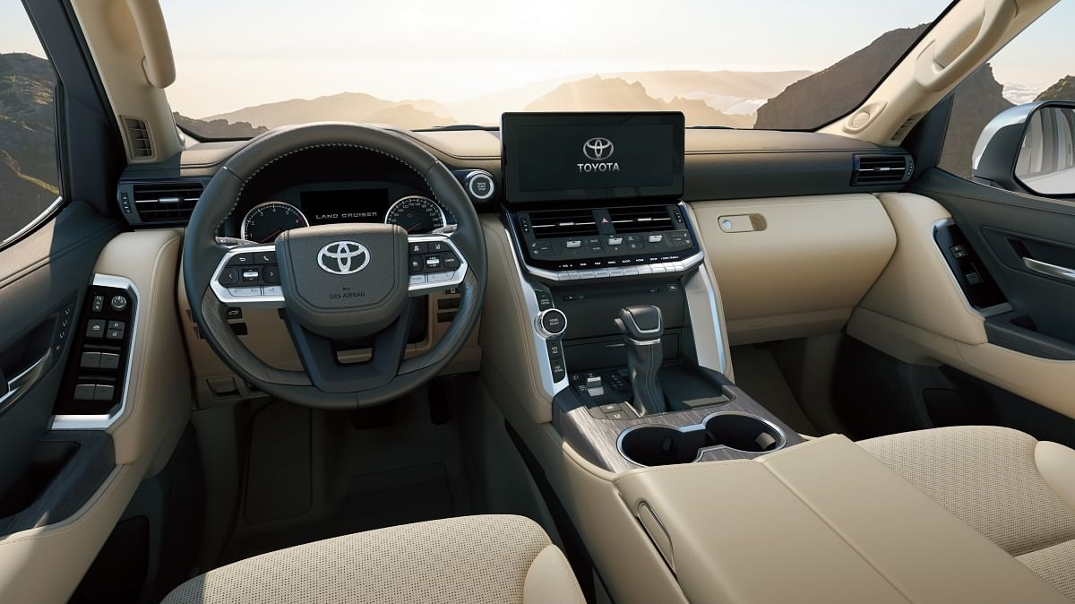 The interiors are designed to be functional during on and off road driving