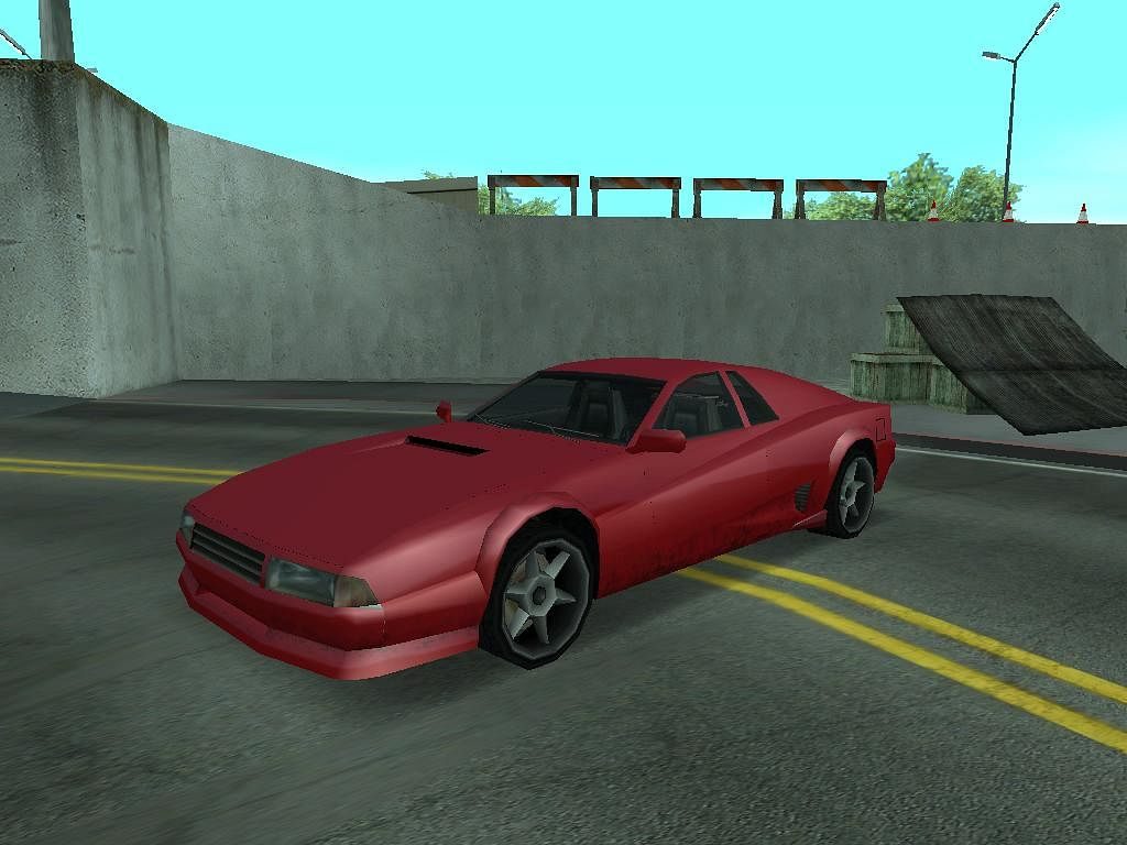The Cheetah was among the best handling cars in earlier GTA titles