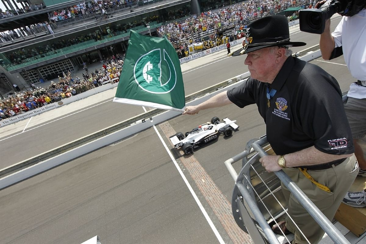 The chequered flag need not always be chequered