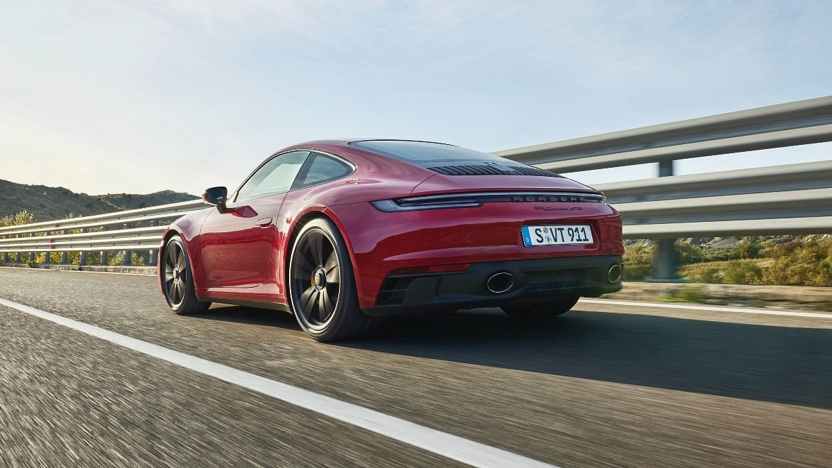 Rear tail lamp is exclusive to the 911 GTS