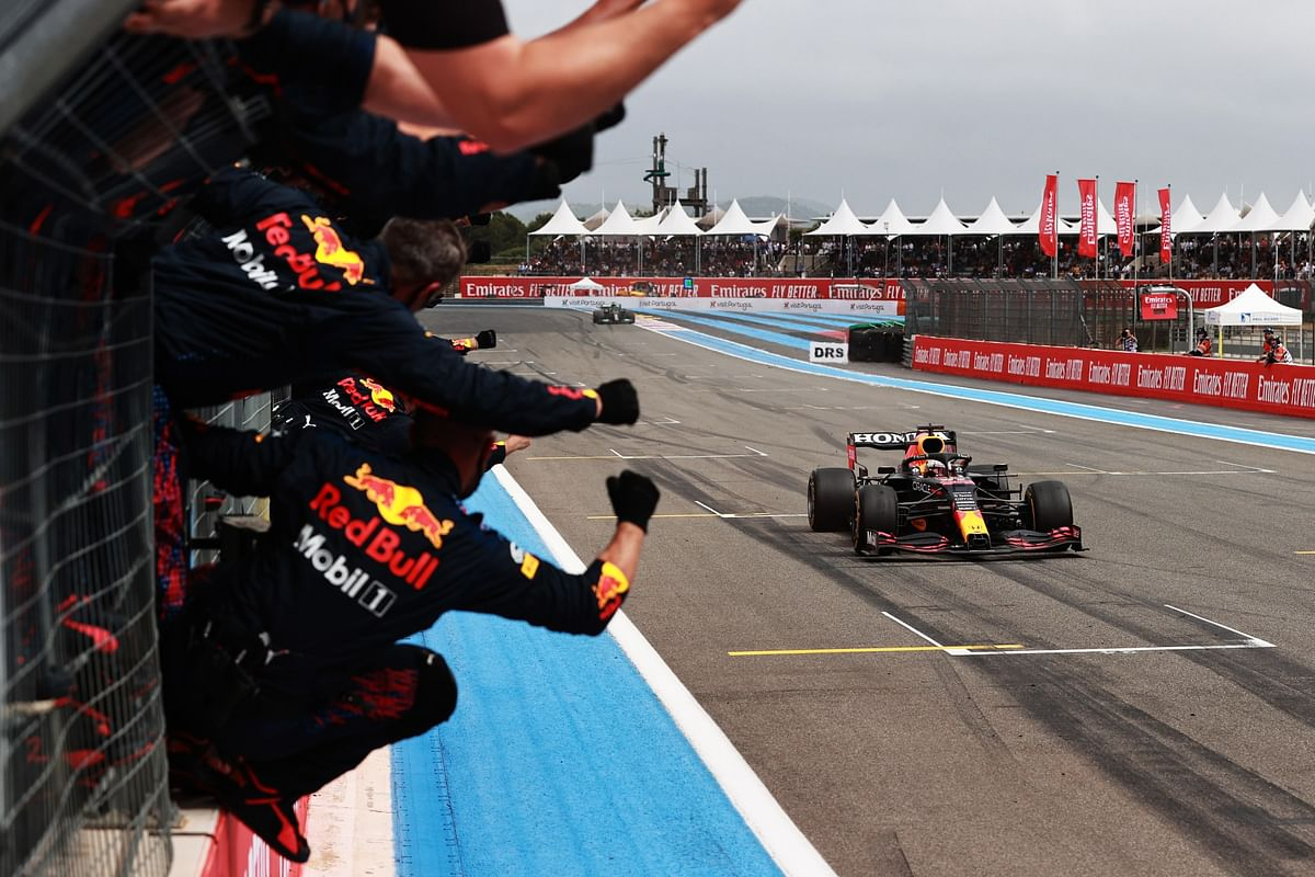 Max Verstappen wins the French GP | Two-stop strategy pays off