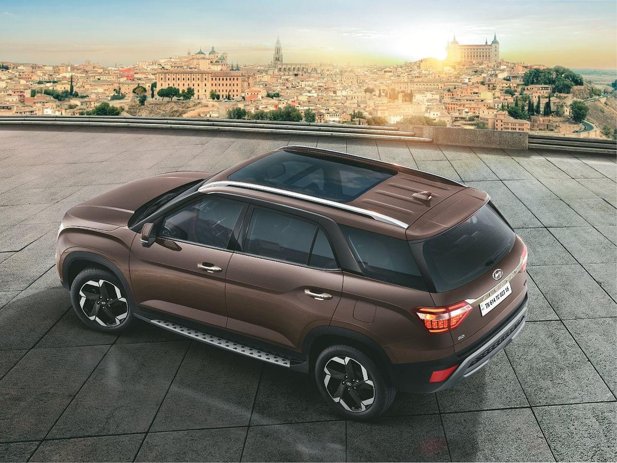 Hyundai Alcazar launched at Rs 16.3 lakh