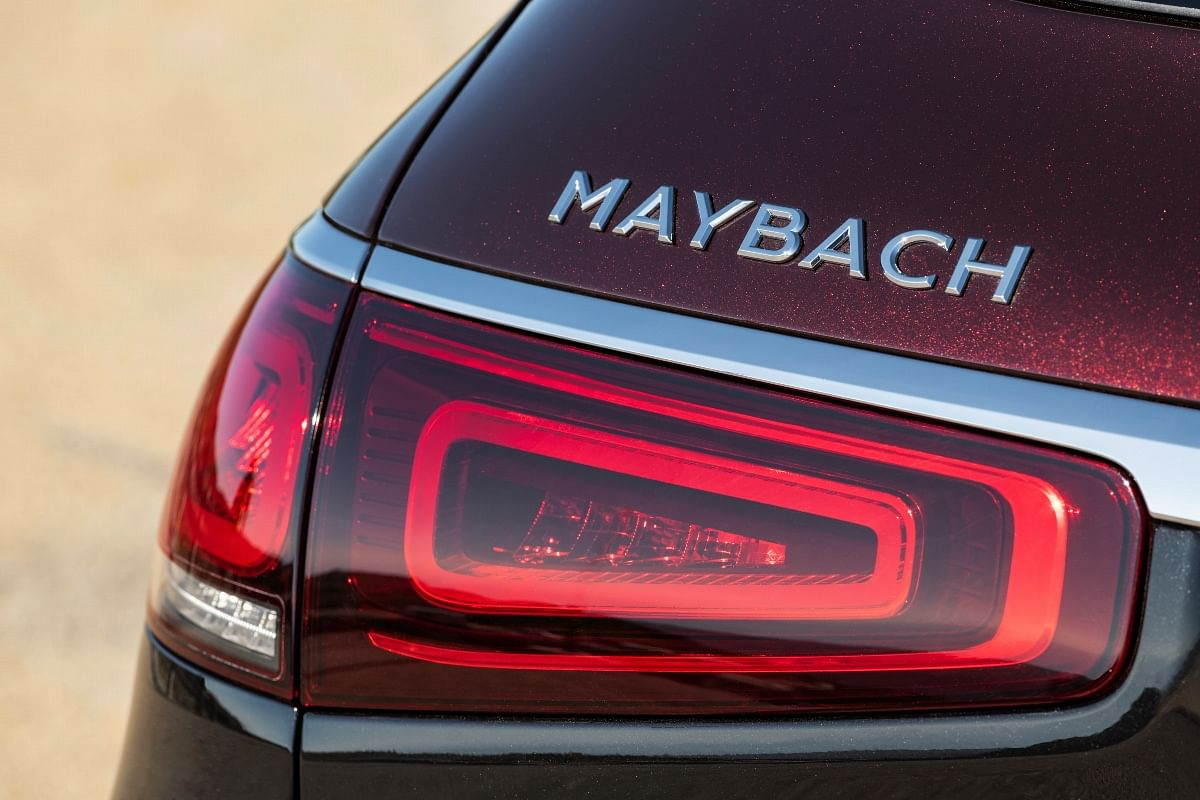 Maybach-specific script on the rear