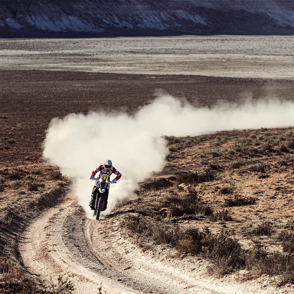 Hero MotoSports Team Rally improves in Stage 3 of Rally Kazakhstan 2021
