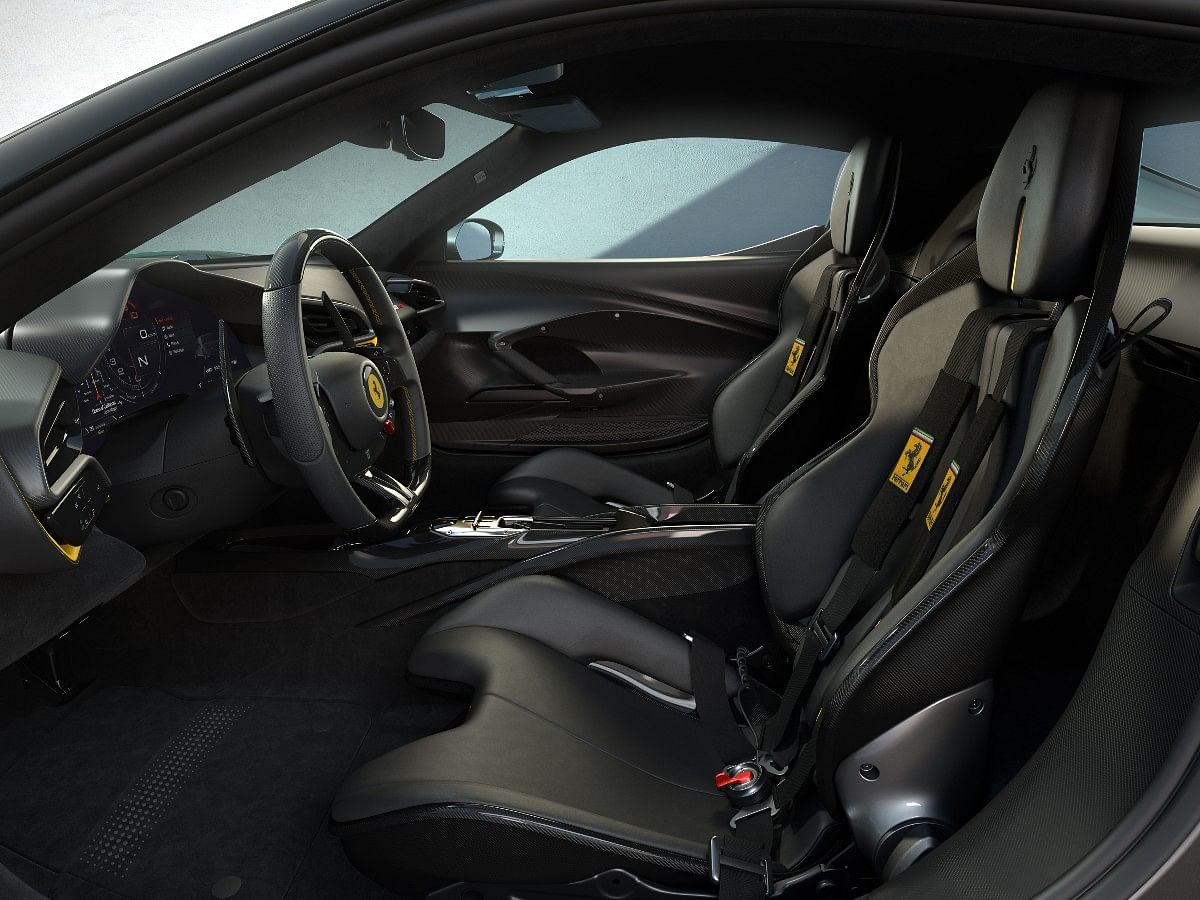 The optional Assetto Fiorano package interior