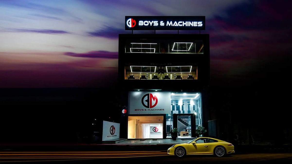 Boys and Machines launch their first showroom in Telangana