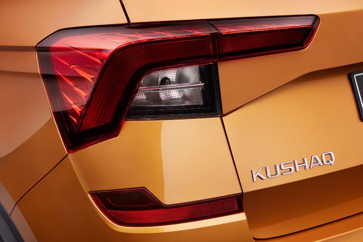 The Skoda Kushaq gets wrap-around LED tail-lights