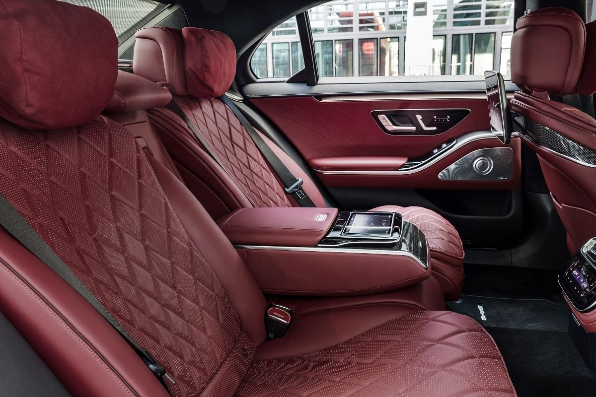 The rear seats promises a disconnect from the world