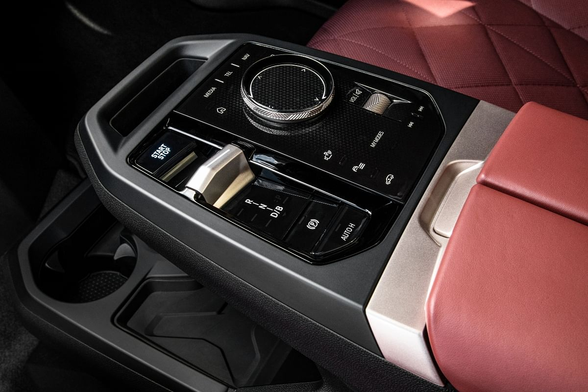 BMW uses Shy Technology to embed buttons into the material