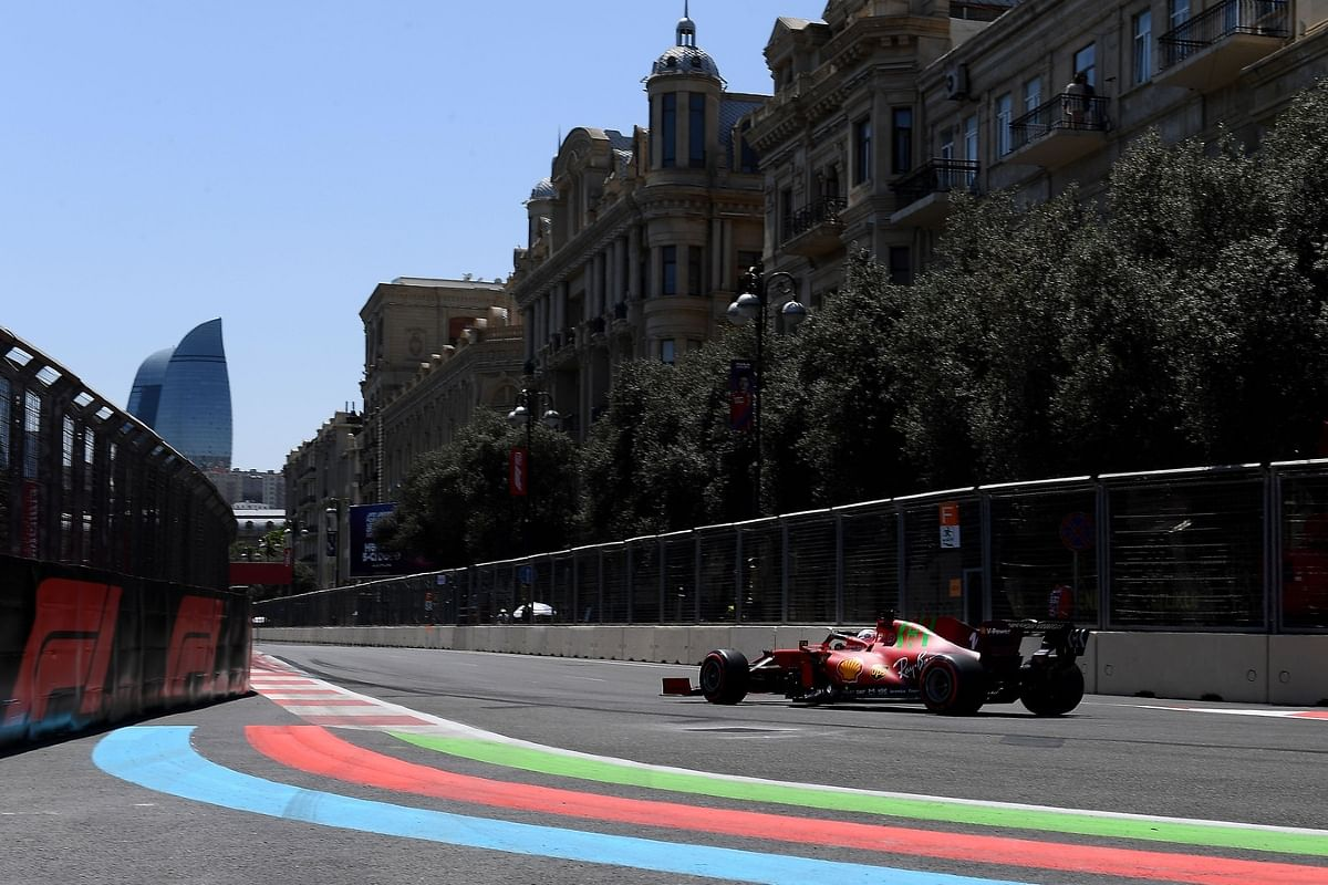The changing conditions proved to be quite tricky in the Azerbaijan GP
